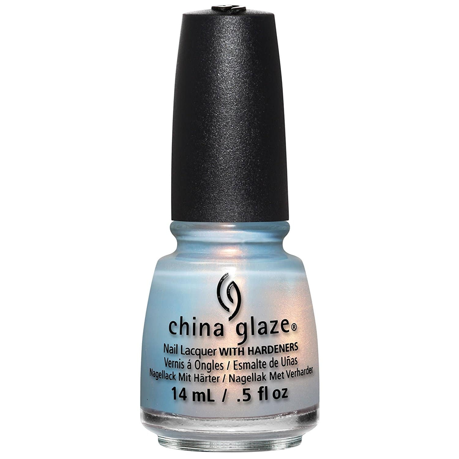 baby blue shimmer
